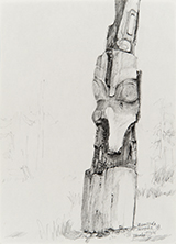 1984-85<br />Graphite on paper<br /> 26.5 x 19.1 cm<br />Collection of the Artist