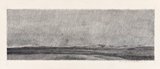 1981<br />Crayon sur papier<br />14 x 40.6 cm<br />Collection de l'artiste